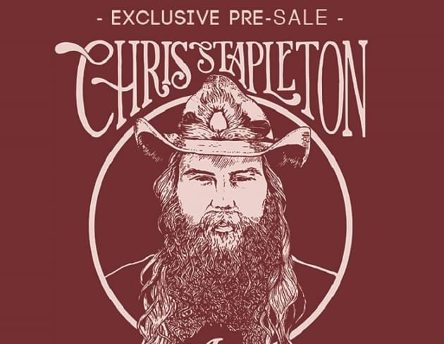 Exclusive: Pre-Sale Code for Chris Stapleton Concert Tickets