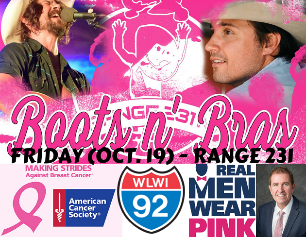 'Boots N Bras' Breast Cancer Awareness Benefit Friday Night