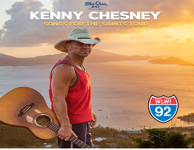 How to Win Tickets to See Kenny Chesney at The Wharf