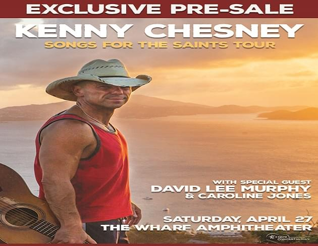 Exclusive Pre-Sale Code for Kenny Chesney Concert Tickets