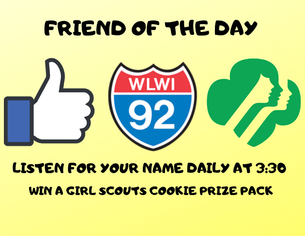 Become our I-92 Friend of the Day