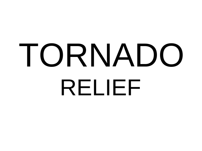 Lee County Tornado Relief Information