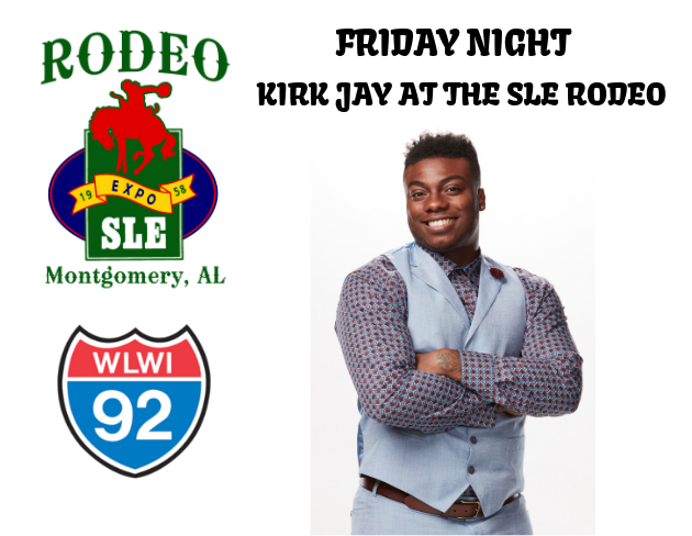 Meet Kirk Jay at the SLE Rodeo Friday Night [ENTER NOW]