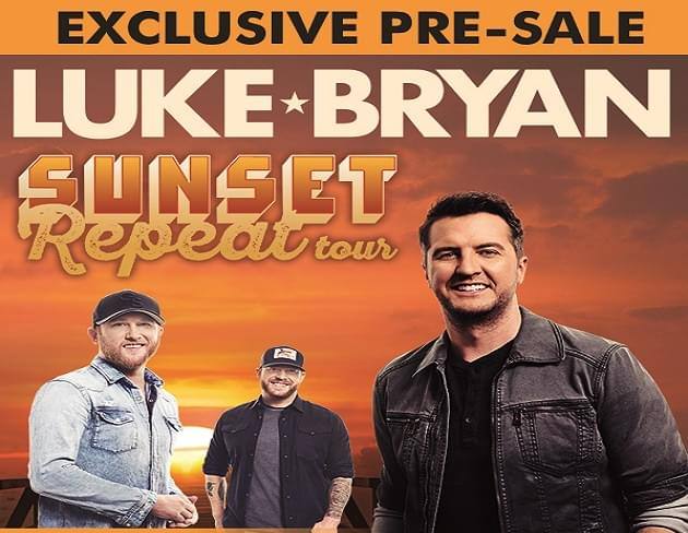 Exclusive: Pre-Sale Code for Luke Bryan Concert Tickets