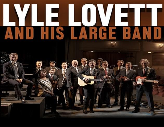 Lyle Lovett and His Large Band Playing Montgomery Performing Arts Centre