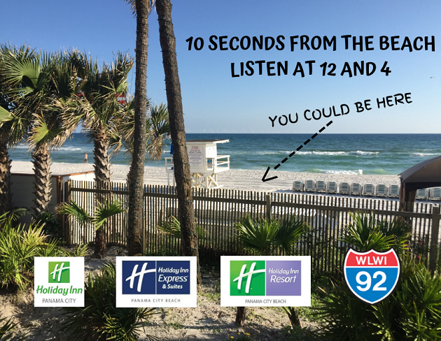 Play 10 Seconds from the Beach for a Vacation