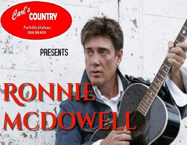Enter to Win Tickets to See Ronnie McDowell