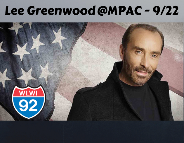 Lee Greenwood in Concert at the Montgomery Performing Arts Centre