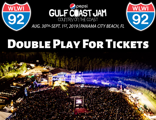 "Pepsi Gulf Coast Jam ""Double Play"" on I-92 – Get Second Chance to Win"