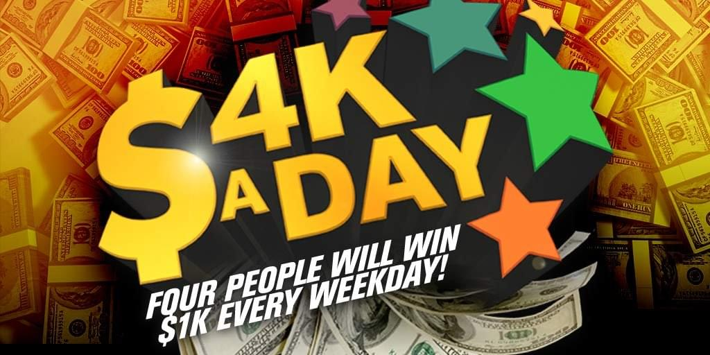WIN SOME CASH FOR THE SUMMER!