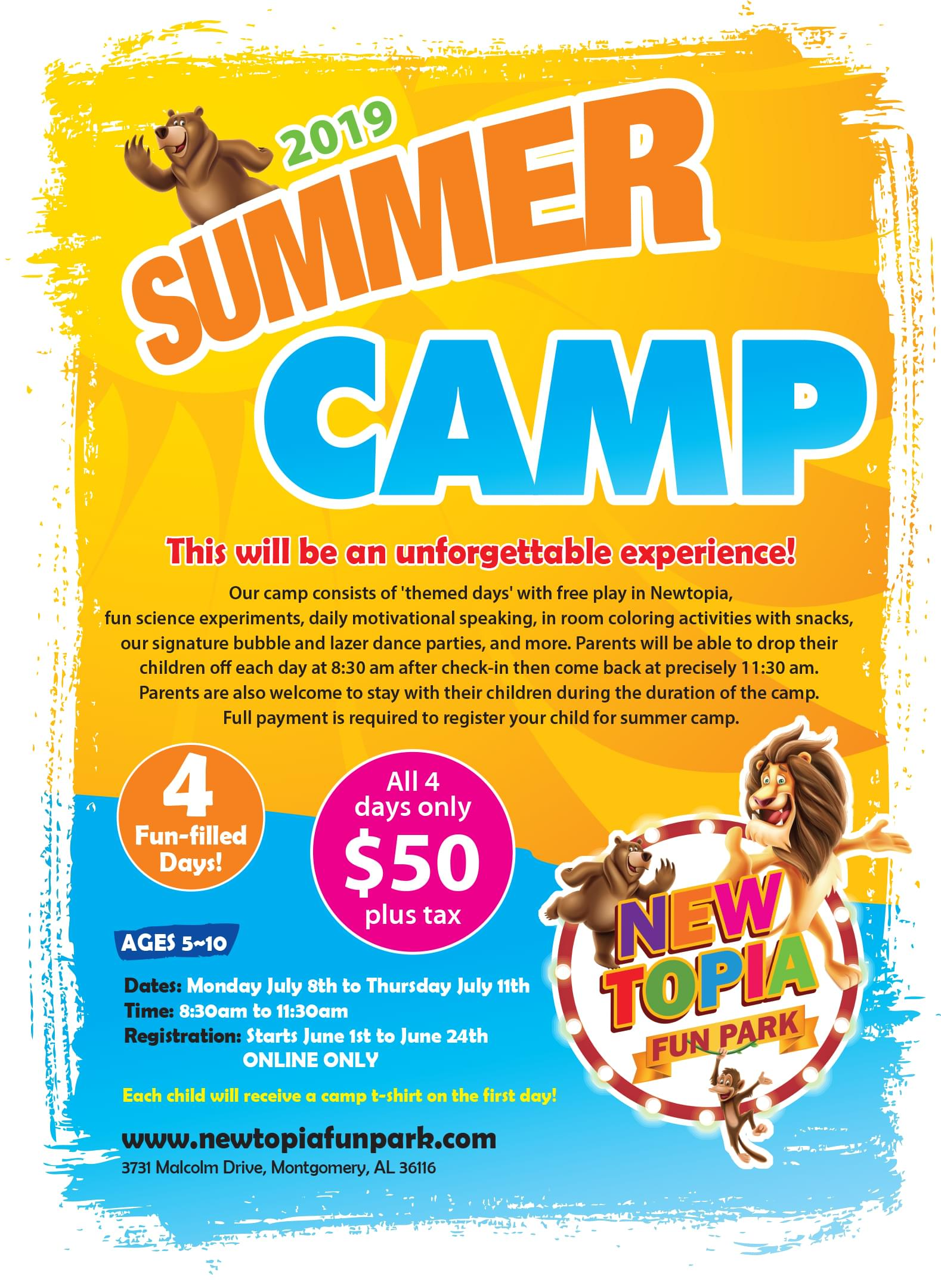 NEWTOPIA SUMMER CAMP