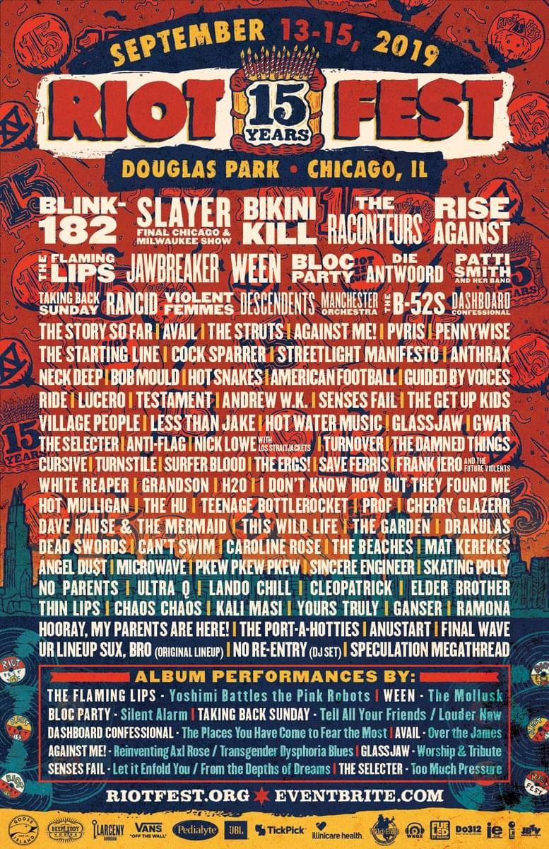 Win Tickets to Riot Fest in Chicago! | The Q 94 5