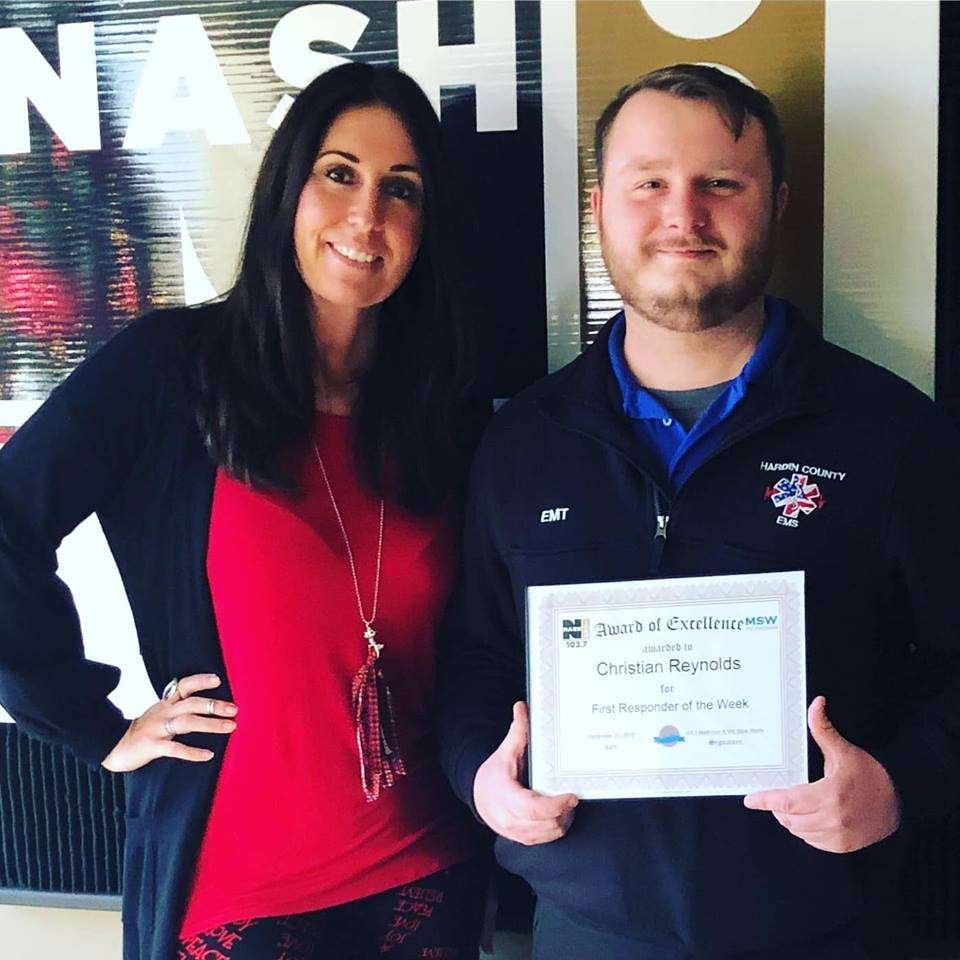 INTERVIEW: Christian Reynolds, Mid State Waste First Responder of the Week