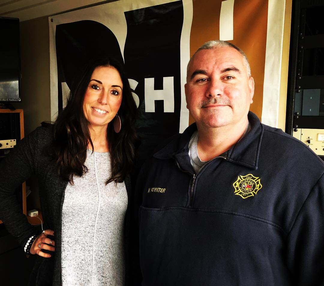 Kevin tells Kellie about a concert fundraiser for CCVFD