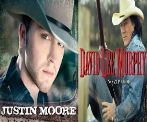 Justin Moore, David Lee Murphy at Owensboro Sportscenter