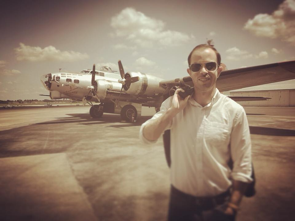 INTERVIEW: Cameron flew in a B-17 and you can too