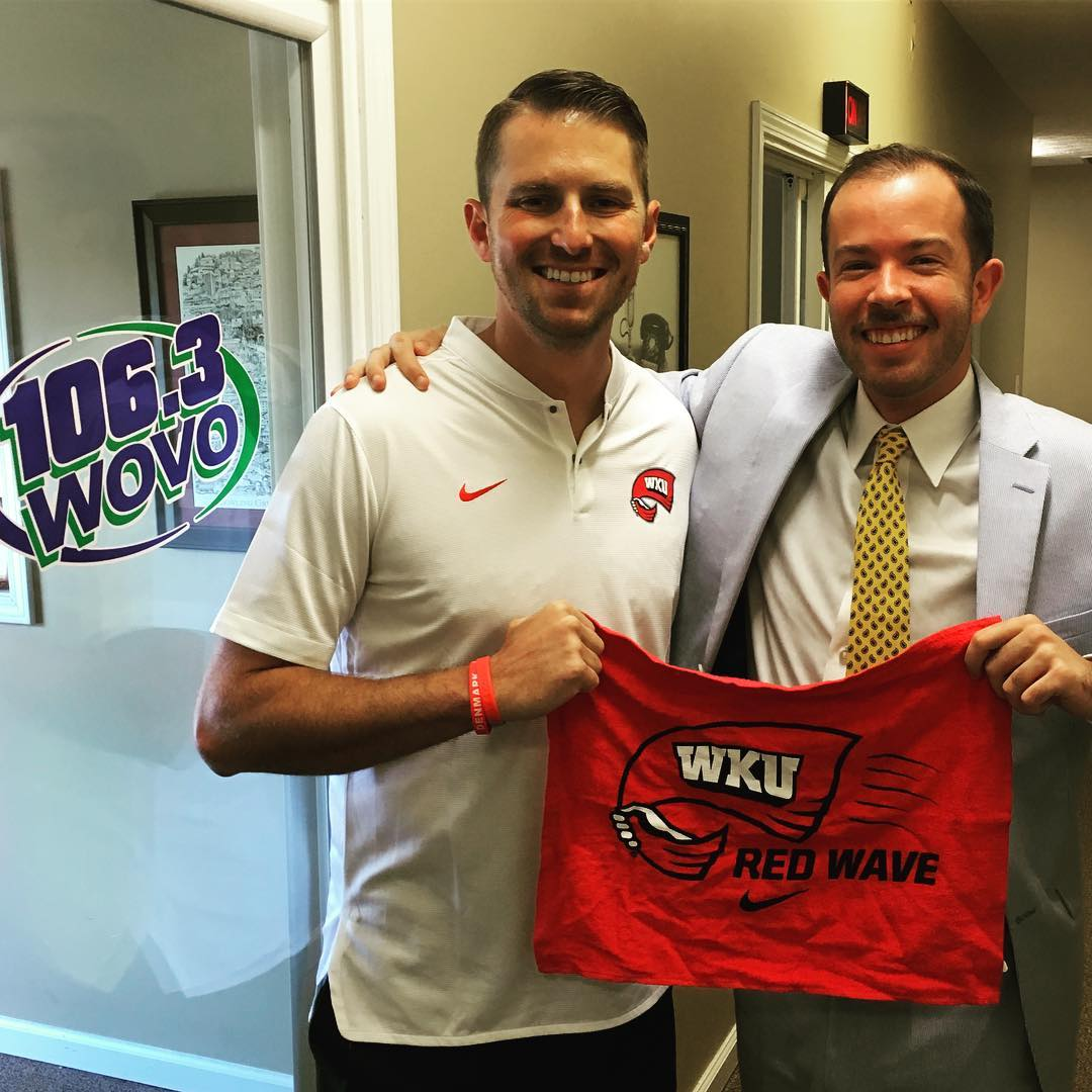 INTERVIEW: Coach Mike Sanford talks about WKU Football