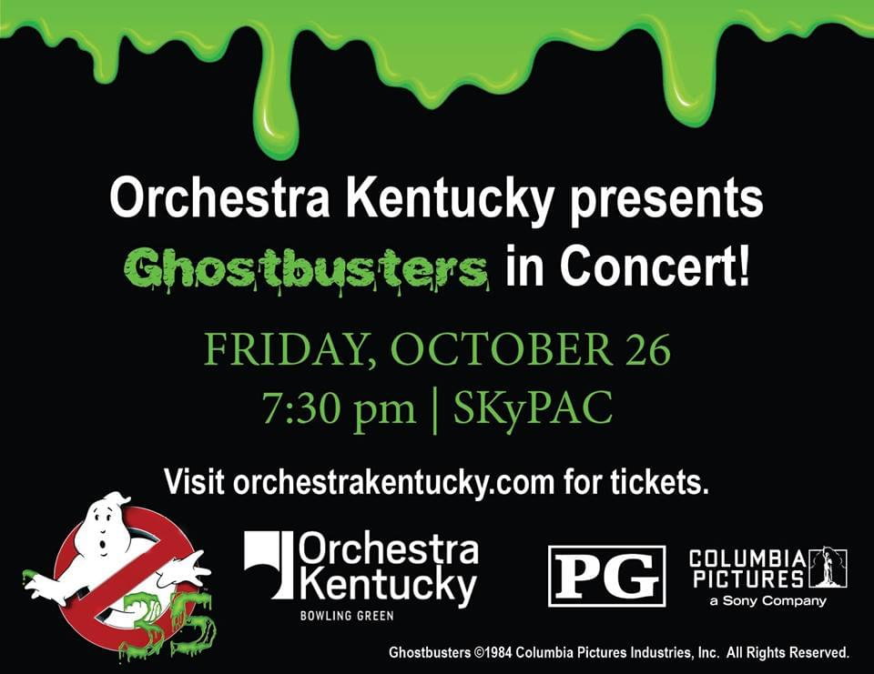INTERVIEW: Orchestra Kentucky performs Ghostbusters at SKyPAC