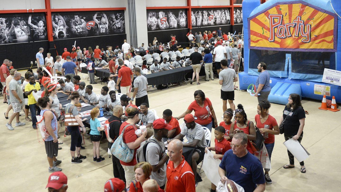 WKU Fan Fest is Saturday at Diddle Arena