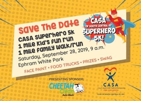 The CASA Superhero 5K is back for a sixth year