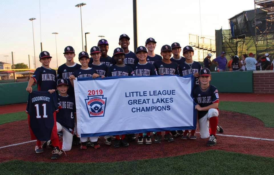 Bowling Green East players join Cameron to talk Little League World Series
