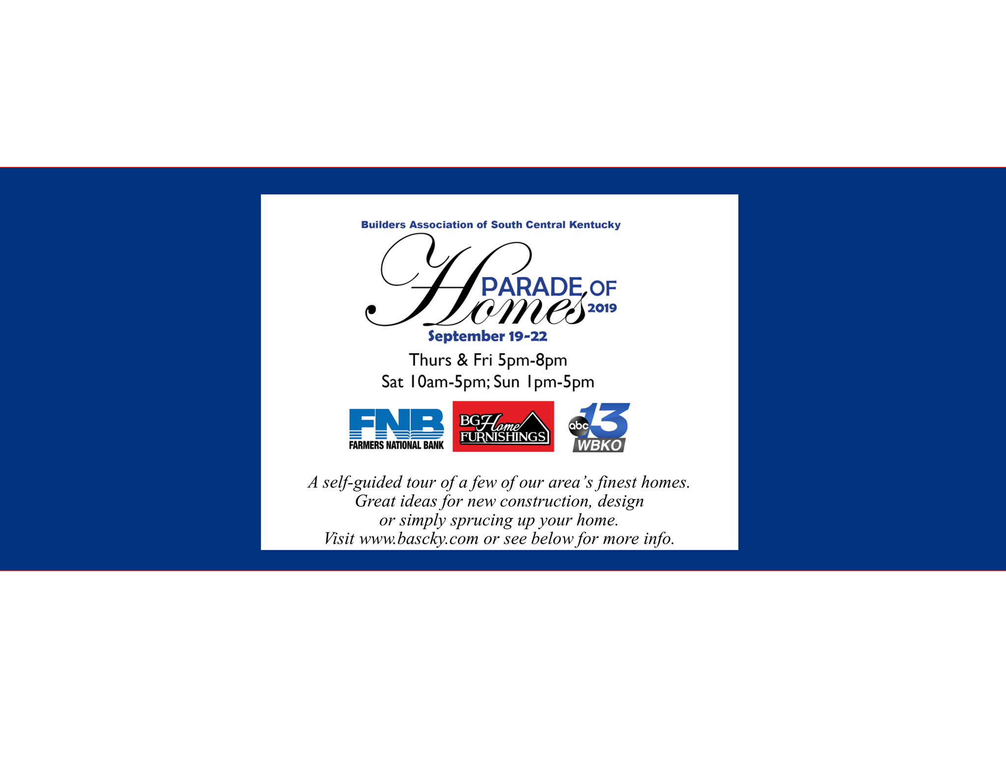 Parade of Homes is this weekend in Bowling Green
