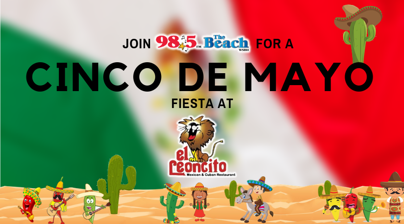 Join The Fun This May 5th For Largest Cinco De Mayo Fiesta Ever You Ll Hear Live Entertainment From Bazabazoo Salsa Band And Local Favorite Hot Pink