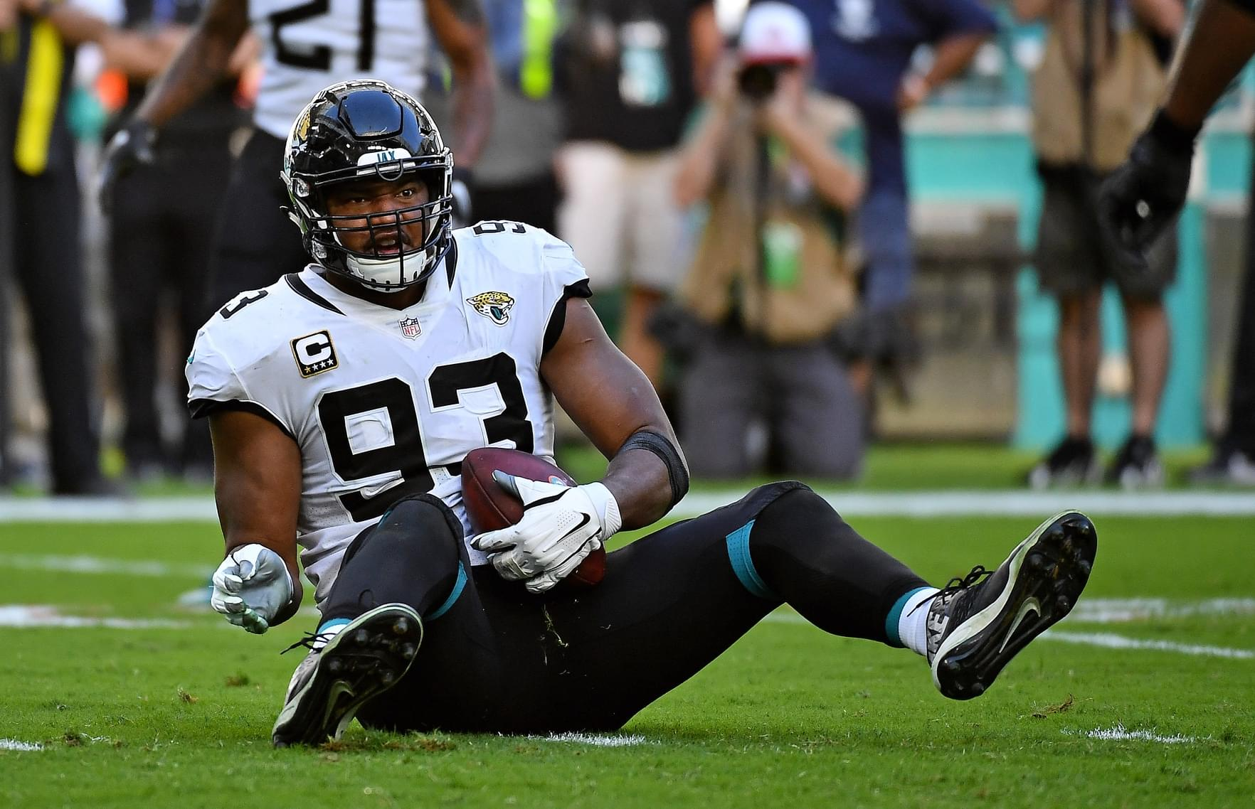 Forget draft, enjoy Calais Campbell while you still can