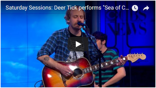 "VIDEO: Deer Tick performs ""Sea of Clouds"" on CBS This Morning"