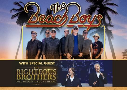 THE BEACH BOYS WITH SPECIAL GUEST THE RIGHTEOUS BROTHERS