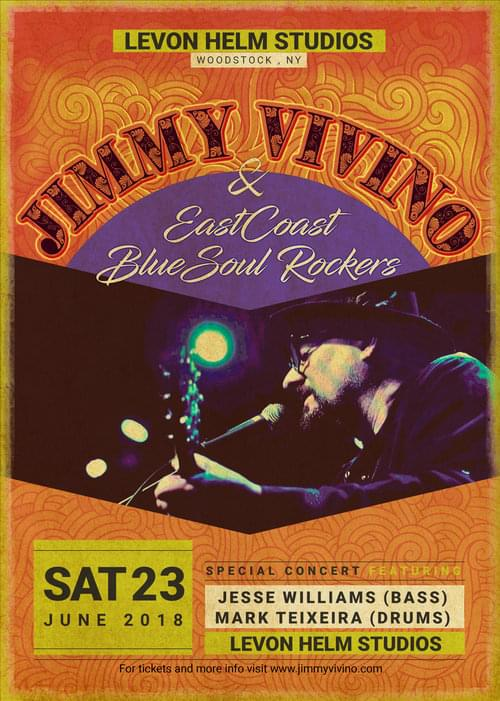 JIMMY VIVINO & THE EASTCOAST BLUESOUL ROCKERS