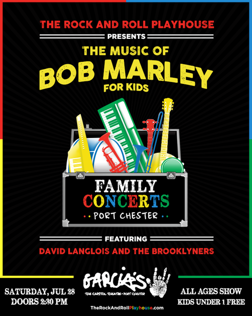 The Music of Bob Marley for Kids w/ David Langlois and The Brooklyners
