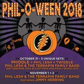 Phil Lesh & The Terrapin Family Band Featuring Jimmy Herring @ The Capitol Theatre
