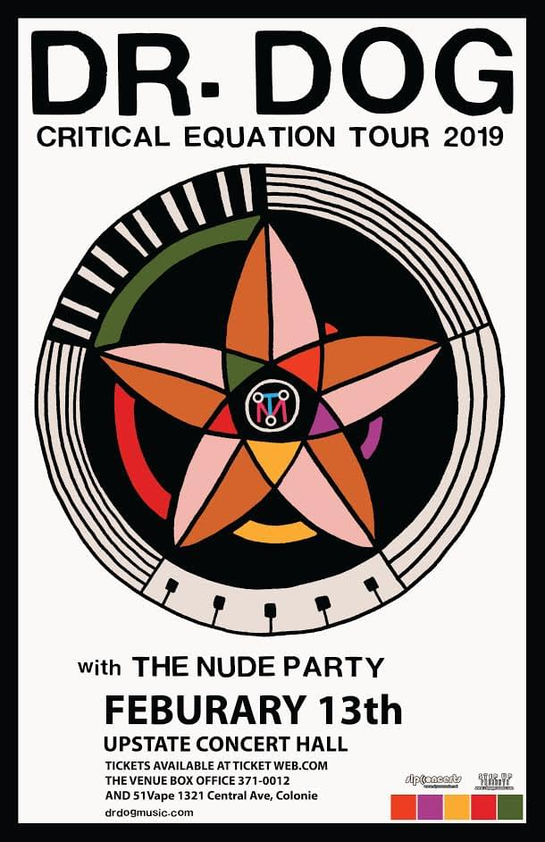Dr. Dog w/ The Nude Party @ Upstate Concert Hall