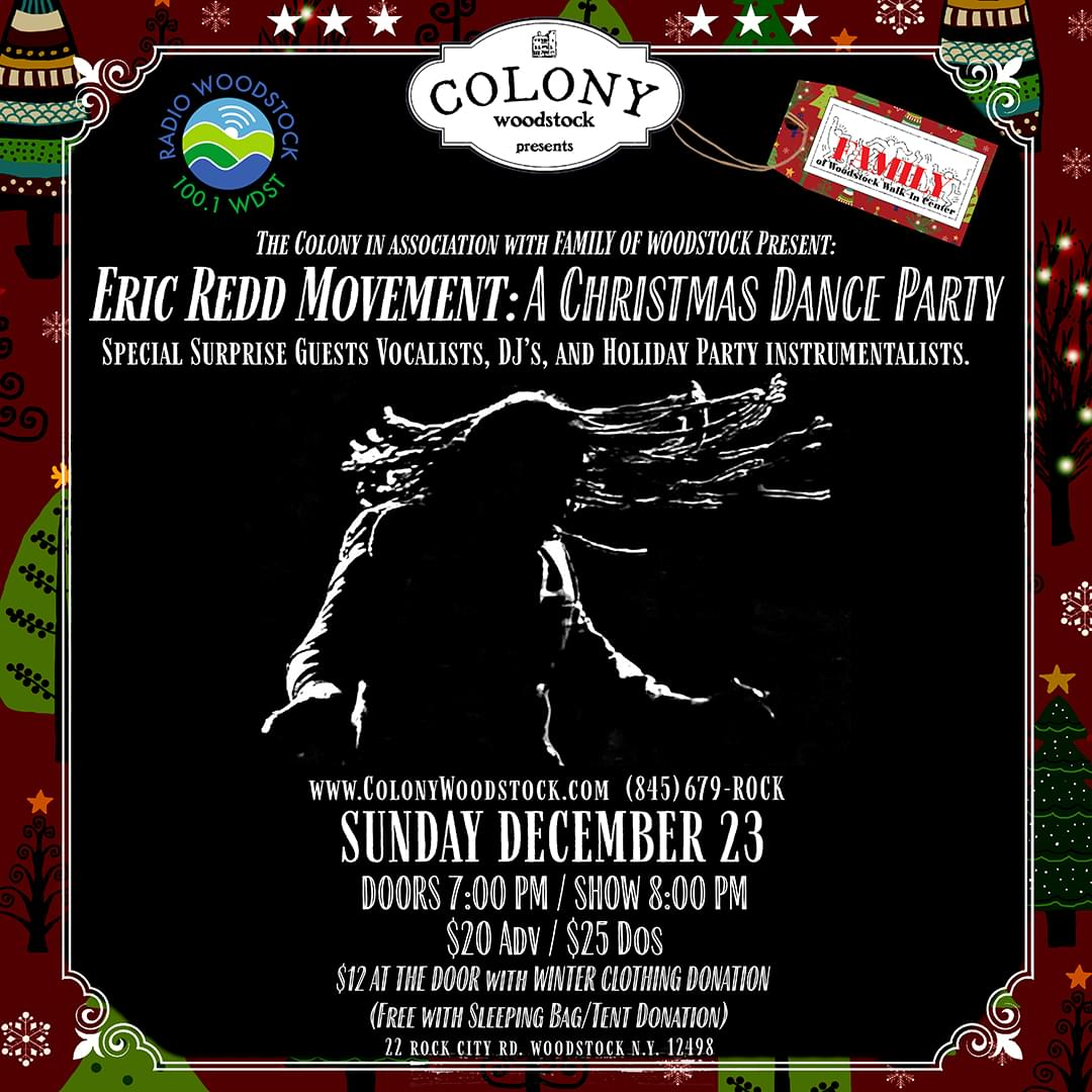 Eric Redd Movement: A Christmas Dance Party