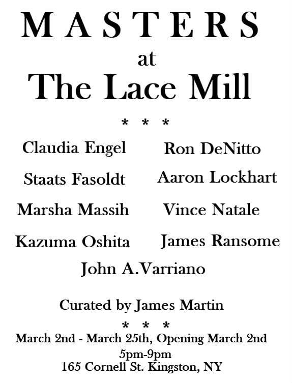 MASTERS at the LACE MILL