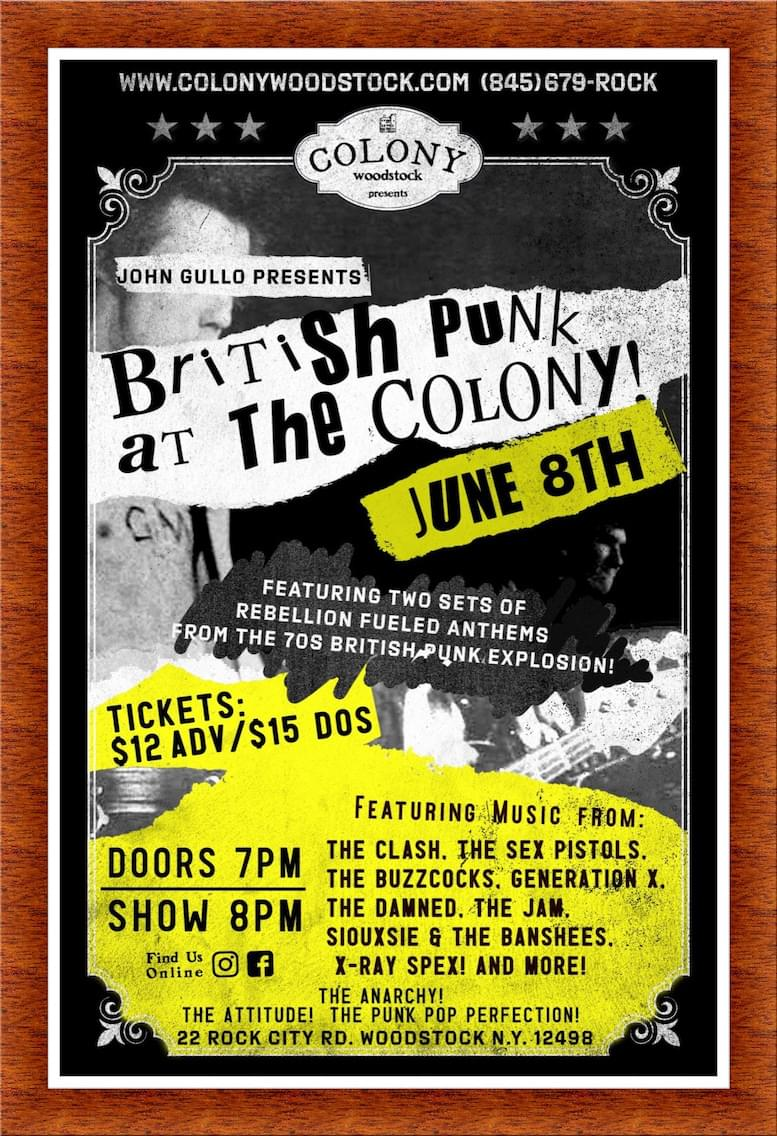 John Gullo's British Punk Show – 6/7/19