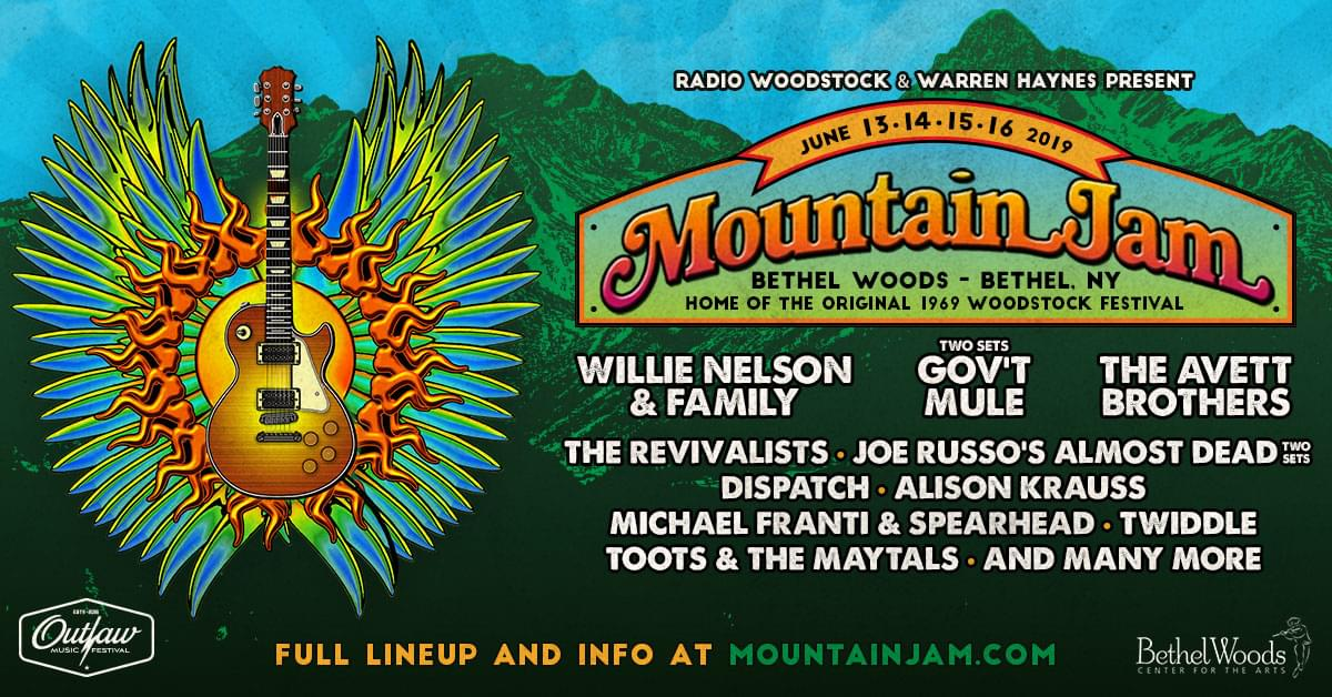 Mountain Jam – Hollis Brown, 6/16/19