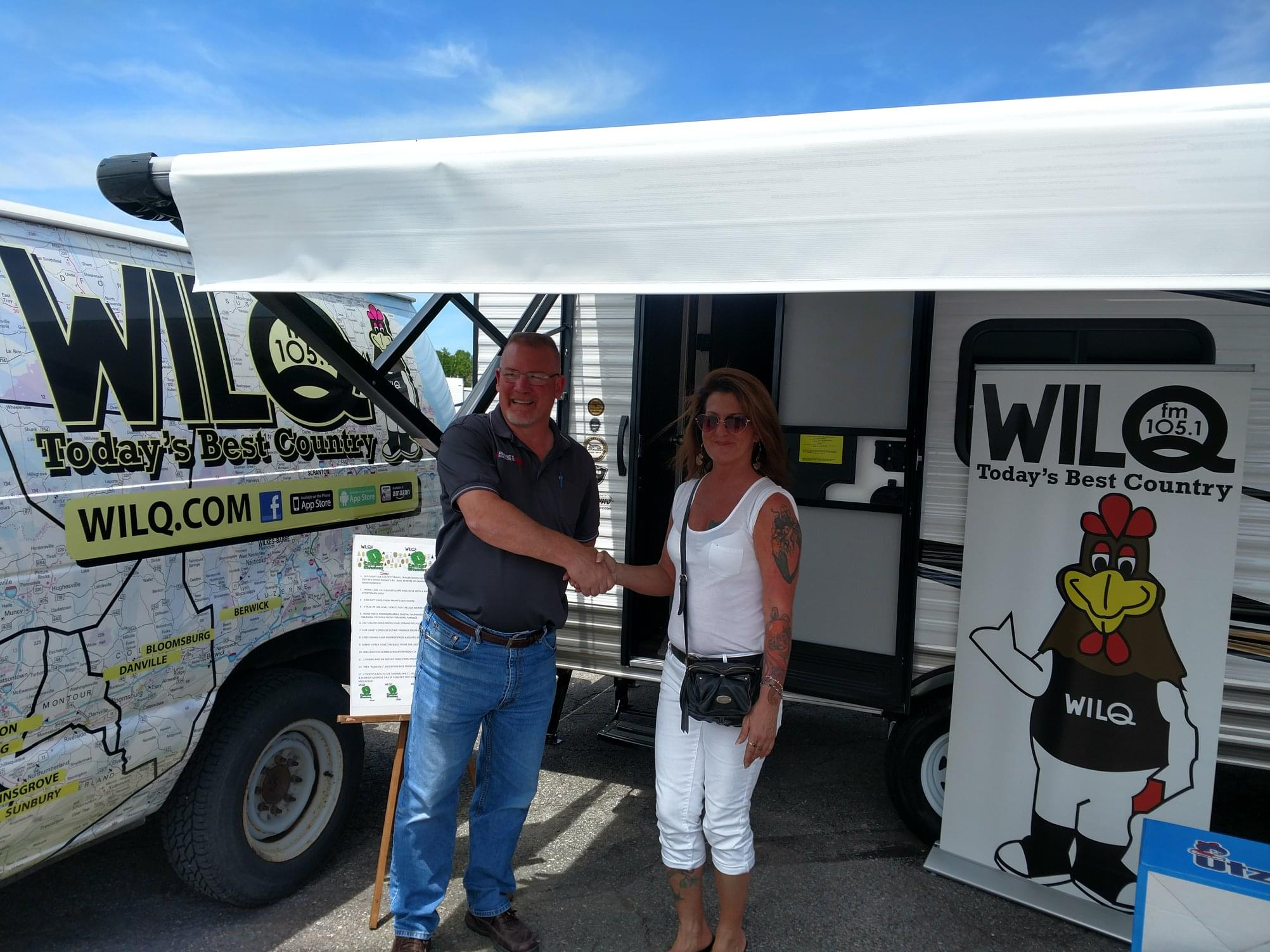 Q Camper with Rhone's RV | WILQ-FM