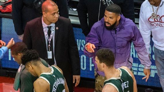Giannis rep rips Drake for trolling Bucks star
