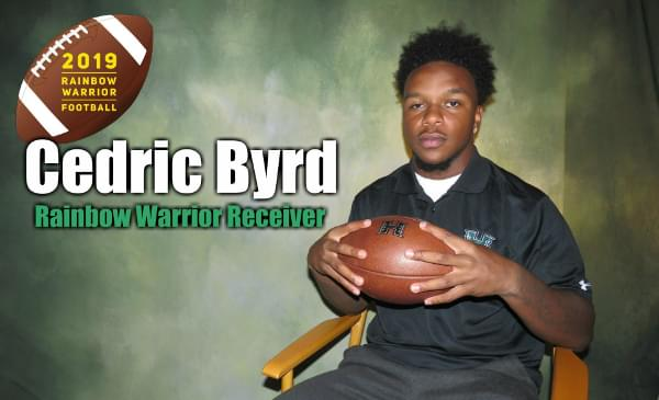 Prize Catch: Hawaii's Cedric Byrd