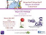 Relay For Life Kick-Off February 25th