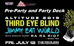 Coors Light Third Eye Blind Party