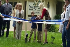 Greater Chamber cuts ribbon on Staley Museum