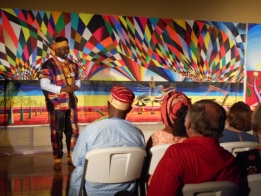 Large Crowd Enjoys Taste of African Culture