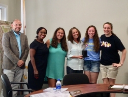 Students, Park Board Honor Jagger-Taylor
