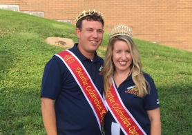 Record-Setting Pritts, Minder Named Queen and King