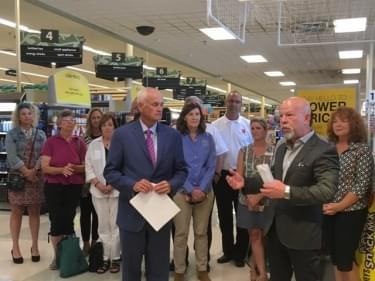 Food Drive announcement 082218