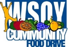 Deadline for WSOY Community Food Drive Grants is Nov. 9