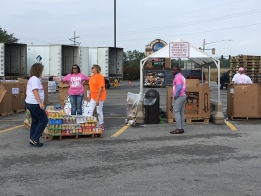 Food Drive Donations Move Past 900K at Midpoint